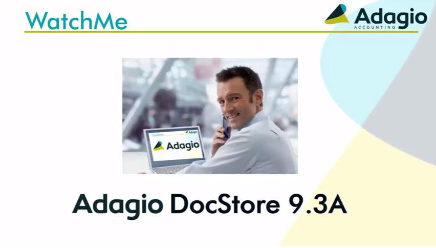 AdagioDocStore